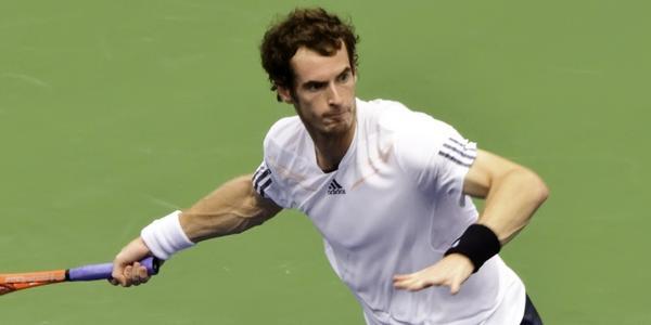 Le joueur de tennis écossais Andy Murray