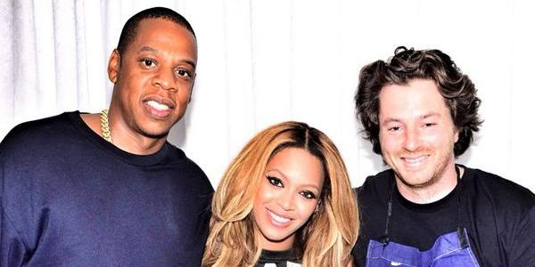 Jean Imbert de Top Chef avec Beyonce et Jay Z