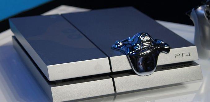 La PS4 de couleur grise métal
