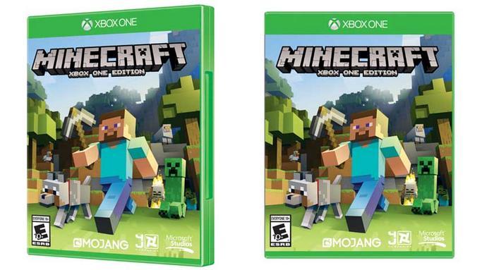 Minecraft se dévoile en version boite pour a Xbox One