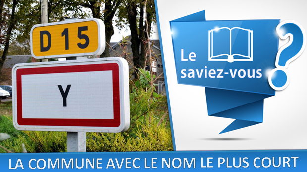 """Il existe une commune en France, dans la Somme, sous le nom de """"Y"""""""