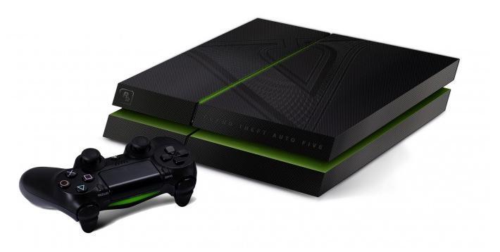 La PlayStation 4 aux couleurs de GTA 5