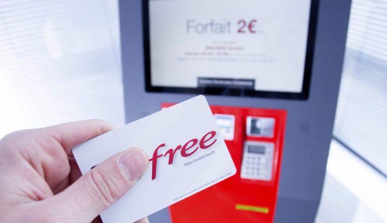 free mobile forfait euros mois