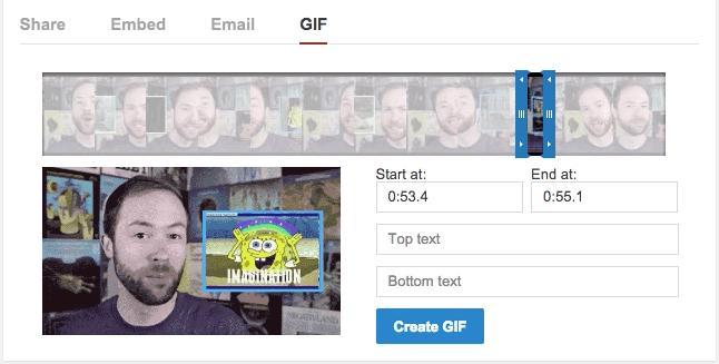 Youtube se lance dans le GIF animé