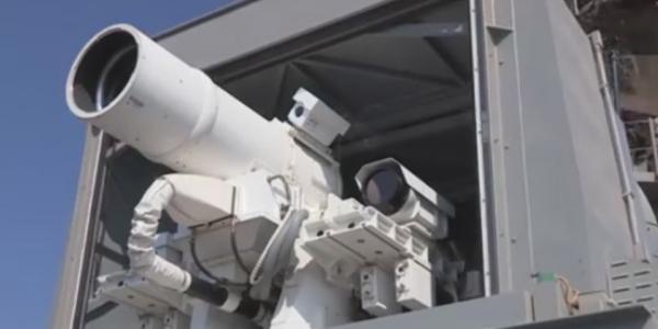 Le rayon laser de l'armée américaine