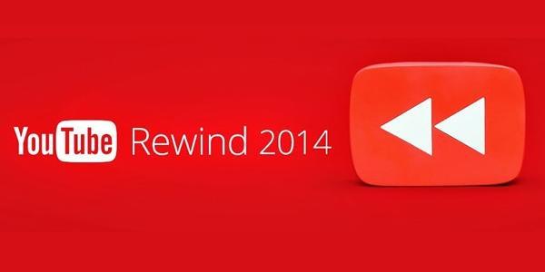 Youtube présente son Youtube Rewaind 2014