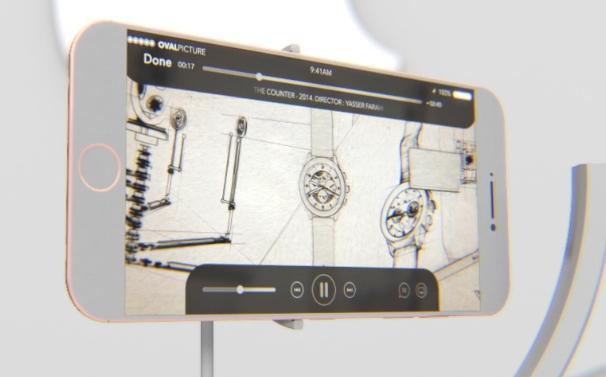 l'iPhone 7 selon OvalPicture