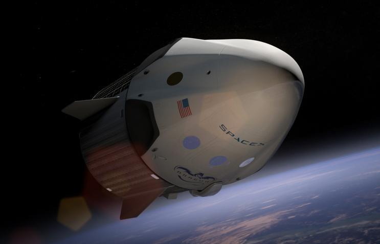 Une fusée de la société SpaceX