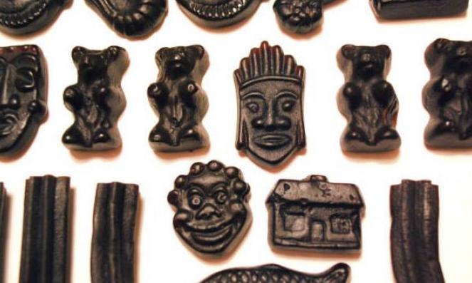 Les bonbons Haribo à tête de masque africain