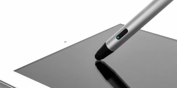 Un stylet dans l'iPad Pro