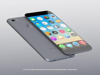 Concept d'iPhone 7