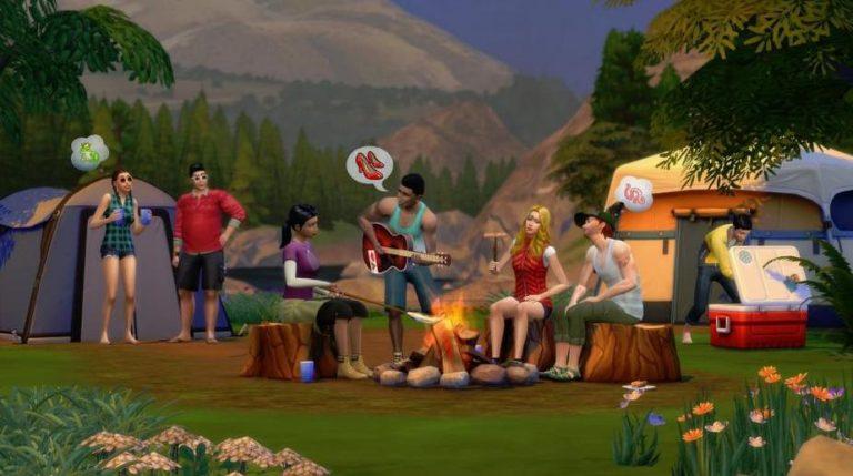 Destination Nature des Sims 4