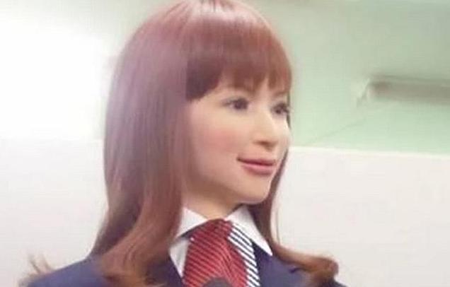 Un android du Henn-na Hotel