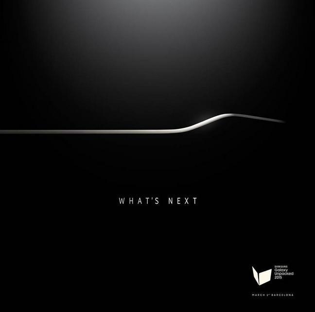 L'invitation envoyé par Samsung aux journalistes pour la présentation du Galaxy S6