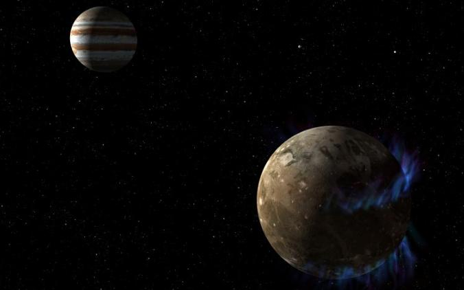 Ganymède, la lune de Jupiter