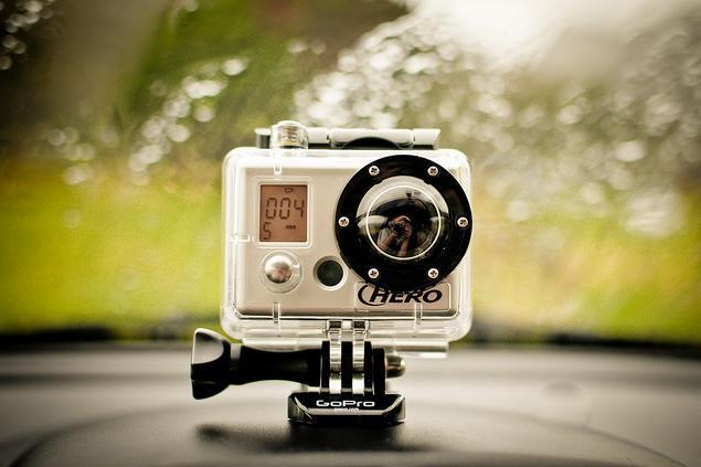 Un caméra GoPro Hero