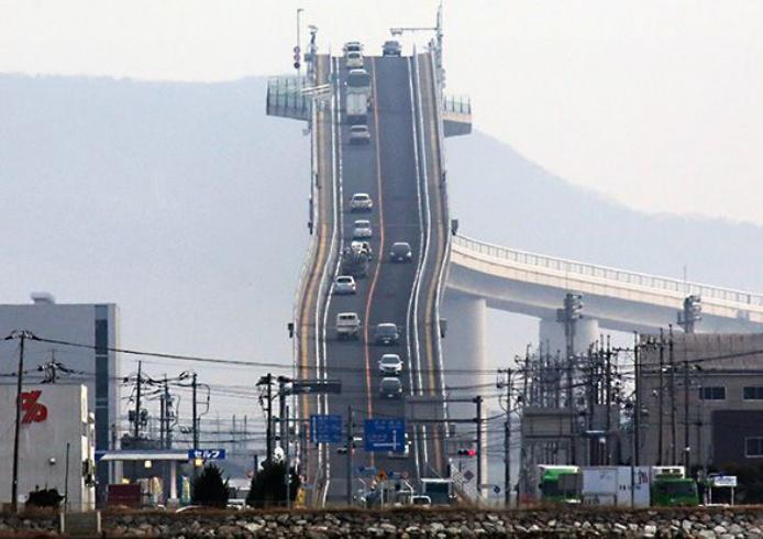 Le pont Eshima Ohashi