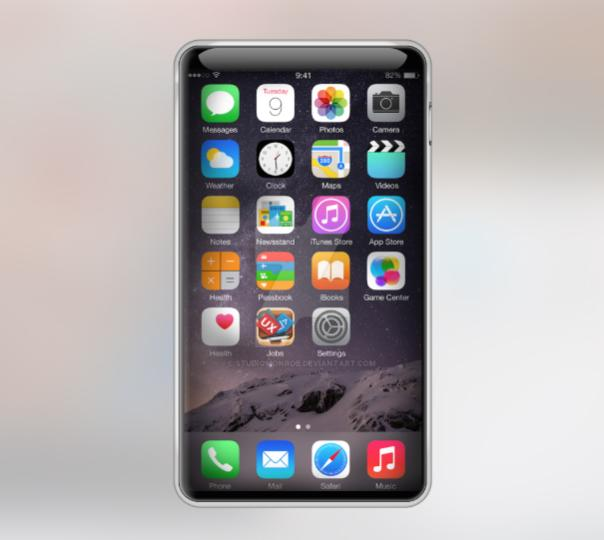 Concept d'iPhone 7 Edge par StudioMonroe