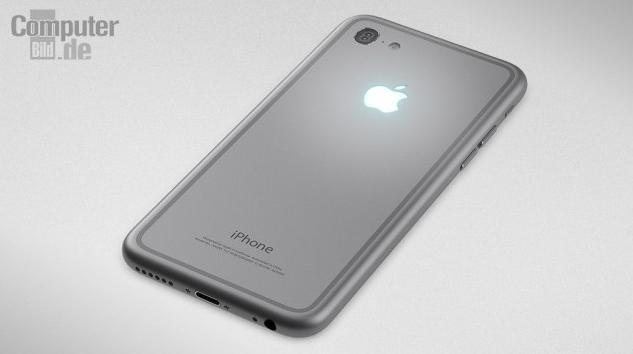 La face arrière du concept d'iPhone de Hajek