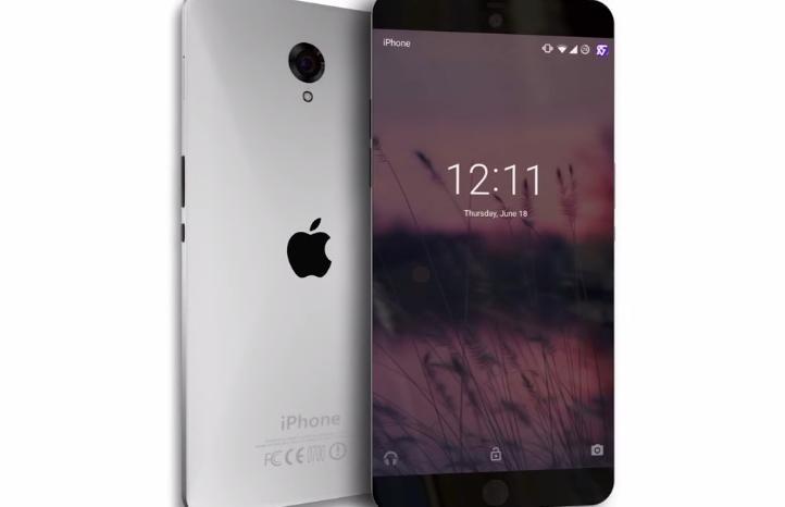 Un concept d'iPhone 7 aus lignes sobres