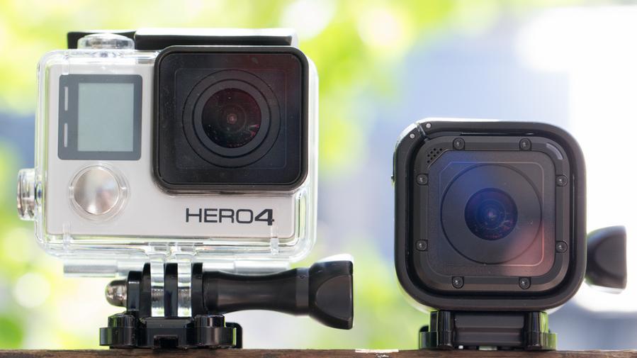 La GoPro Hero 4 Session