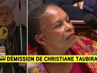 Démission surprise de Christiane Taubira