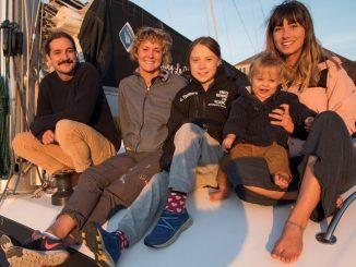 Greta Thunberg voyage
