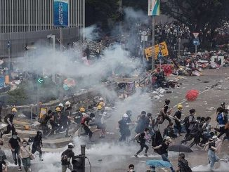 hong kong manifestations affrontements