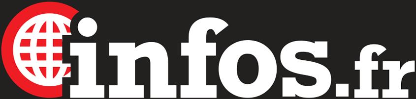 Logo Infos.fr sur fond sombre