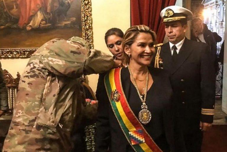 Jeanine Áñez présidente Bolivie