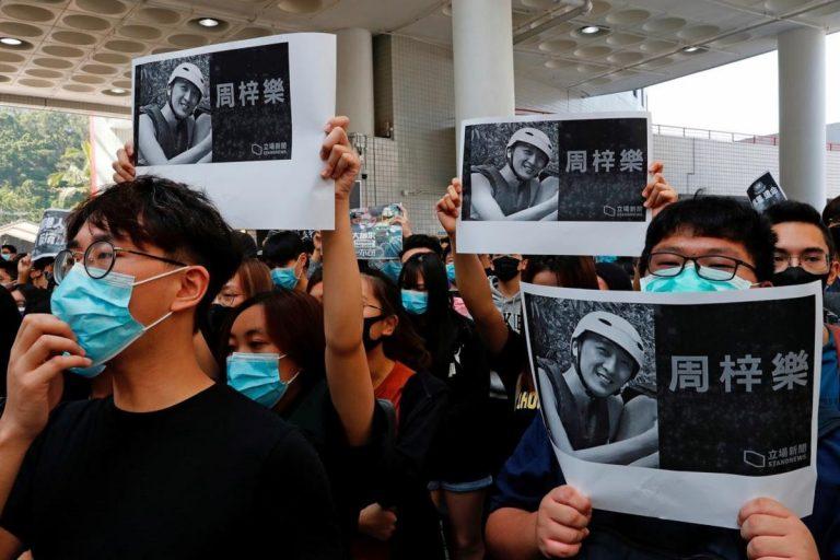 Manifestations à Hong Kong: un étudiant est mort en tombant d'un parking surélevé