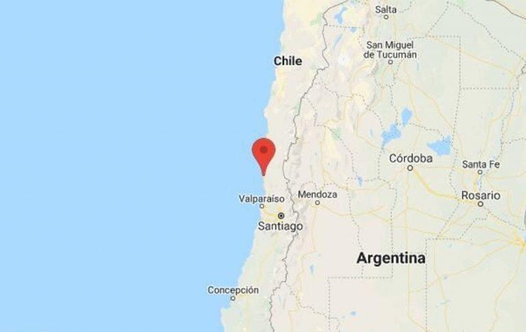 Séisme au Chili