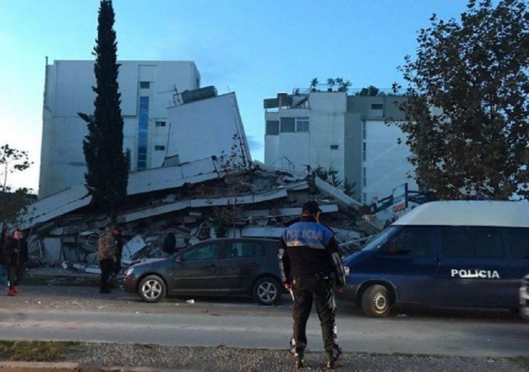 tremblement de terre en albanie
