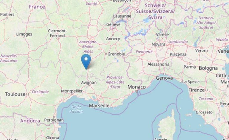 Tremblement de terre dans le sud de la France: choc de magnitude 5.0
