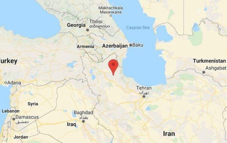 Tremblement de terre en Iran