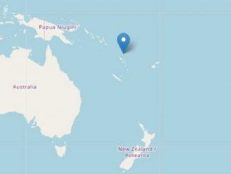 Tremblement de terre îles Vanuatu