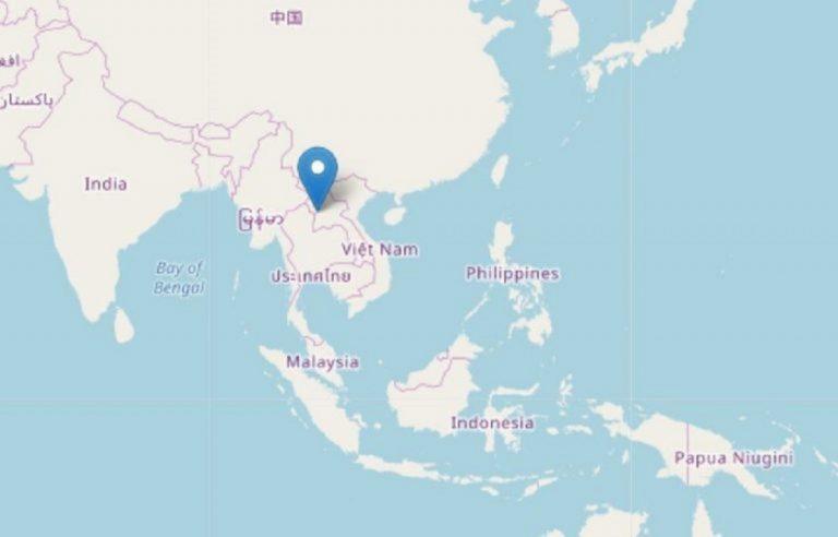 tremblement de terre laos thailandie