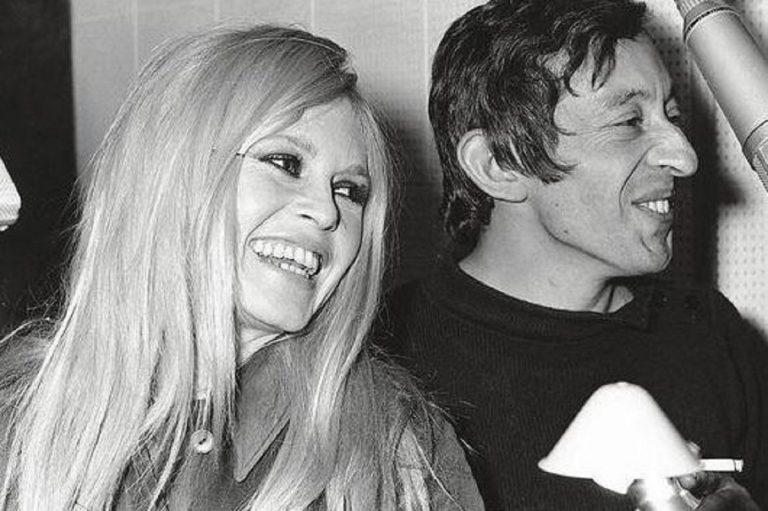 Brigitte Bardot et Serge Gainsbourg
