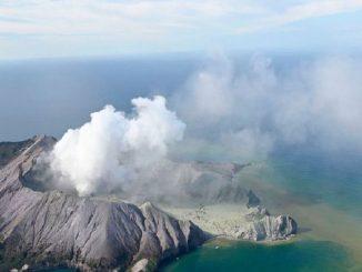 erupition vulcanique nouvelle zélande