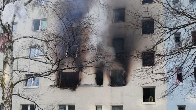 Explosion copropriété Allemagne