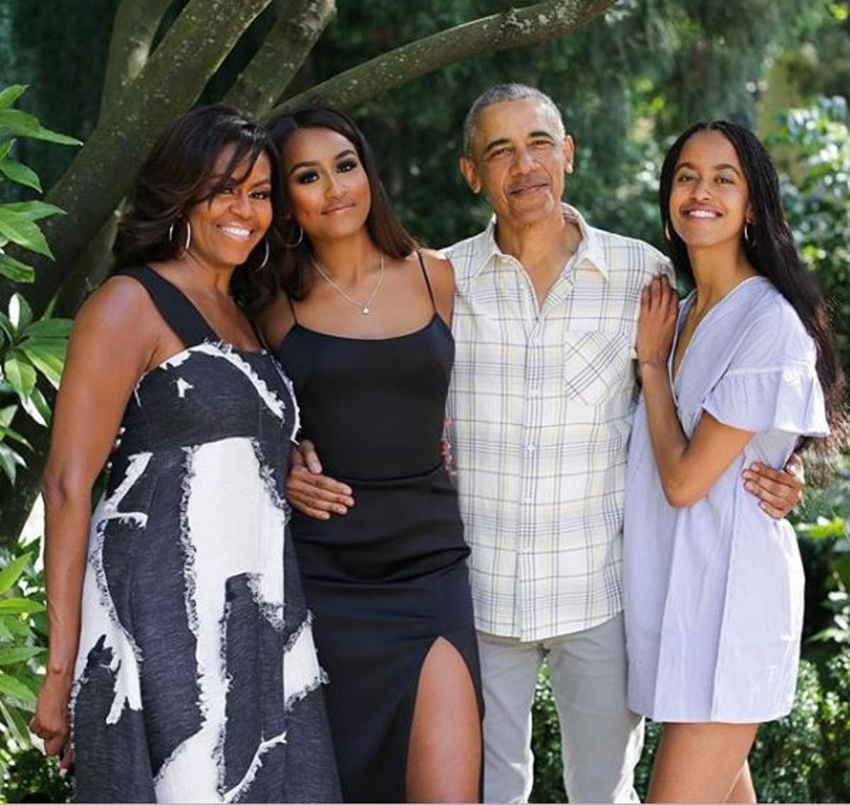 Photo de la famille Obama sur Instagram