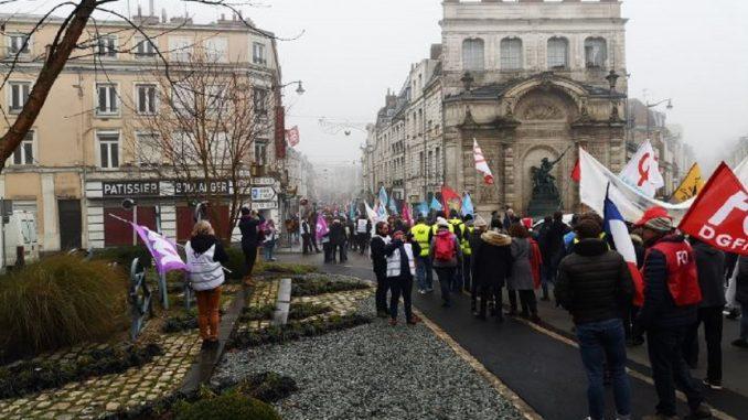 France grève générale