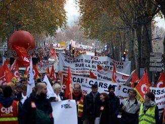 Grève France 10 décembre