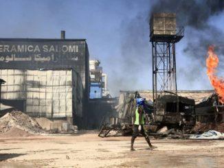 Incendie dans une usine en Soudan