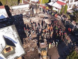 Pologne, fuite de gaz et explosion