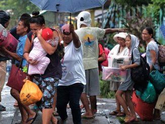 Typhon Kammuri aux Philippines