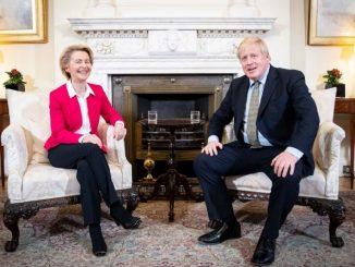 Brexit: Johnson et Ursula Von Der Leyen