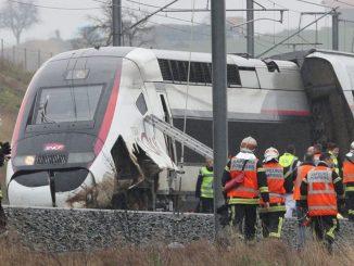 Train Strasbourg-Paris déraille