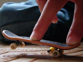 construire finger skate park
