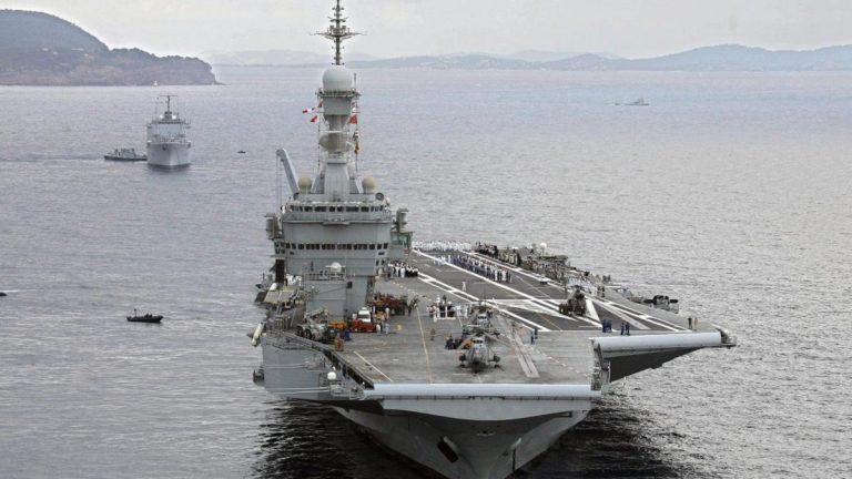 Covid-19 porte-avions Français